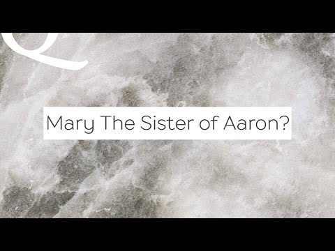 Q&A: Why Does the Quran Call Mary the Sister of Aaron? | Dr. Shabir Ally