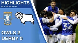 Sheffield Wednesday 2 Derby County 0 | Extended highlights 2017/18