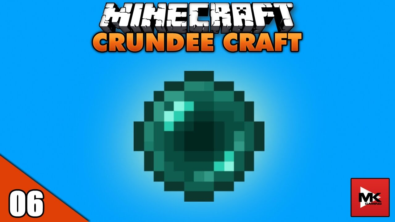 Ender Pearl – Viên Ngọc Khó Tìm Nhất – Minecraft Crundee Craft [6] | MK Gaming