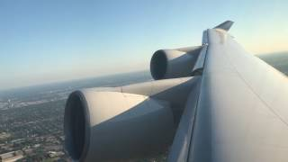 Final United Airlines Domestic 747-400 Flight