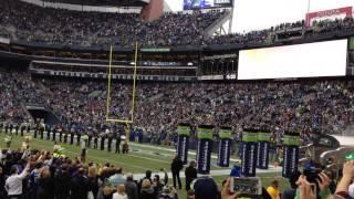 Seattle Seahawks Introduction vs. New York Giants 11/9/2014