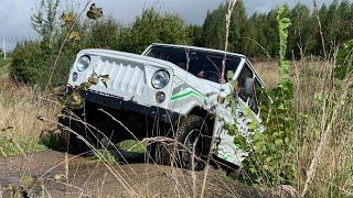 Uaz Spartan EV Offroad - что может электро УАЗ Спартан (E-Hunter)