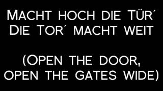 Oomph! - Feiert Das Kreuz Lyrics with English Translation