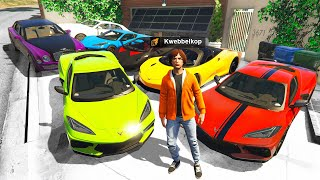 Collecting RARE BILLIONAIRE CARS In GTA 5 RP!