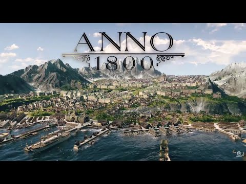Anno 1800 Sandbox #19 New Productions On The Horizon - Let's Play Gameplay English [FullHD 60FPS]