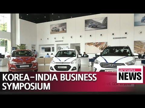 Korea-India Business Symposium held in Seoul