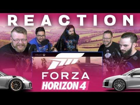 Forza E3 2018 Trailer REACTION!!