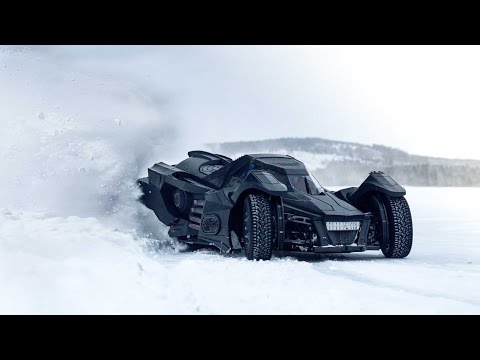 CAN THE BATMOBILE DRIFT ON ICE??? | VLOG 323