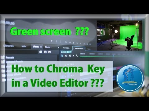 How to chroma key / green screen in a video editor ??? How to do it in  Movavi video suite ?