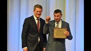 Радий Хабиров вручил ключи от внедорожников 10 лучшим механизаторам республики