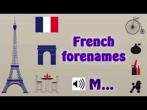 Pronounce French forenames beginning with M - YouTube