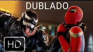 HOMEM ARANHA VS VENOM BATALHA ÉPICA - Tom Holland vs Tom Hardy - DUBLADO HD