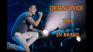 """Gambar cover Cheating on You , Live in Brasil  - Charlie Puth 