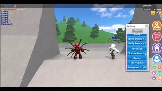 SPIDERMAN DANCE IMMORTALS ROBLOX VERSION
