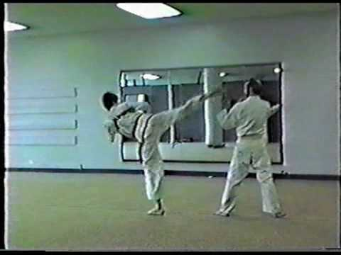 Michael O'Malley Tae Kwon Do  Must see old school kicking and punching demonstration