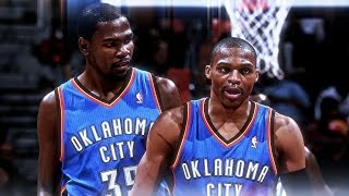 Kevin Durant x Russell Westbrook - Don't Let Me Down ᴴᴰ