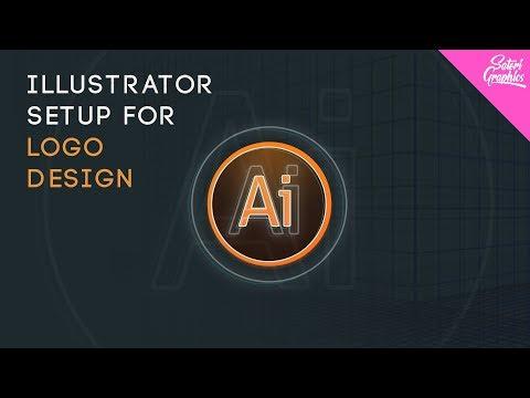 How To Setup Illustrator For A Logo Design Adobe Illustrator Logo Setup Youtube