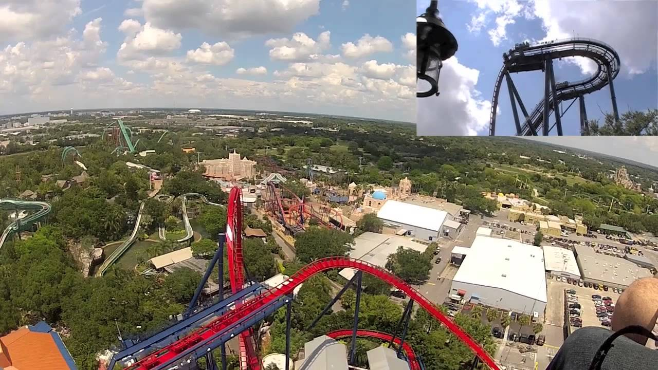 SheiKra POV at Busch Gardens, Tampa, Florida - YouTube