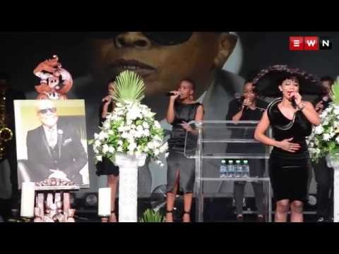 Kelly Khumalo's tearful tribute to the late Robbie Malinga