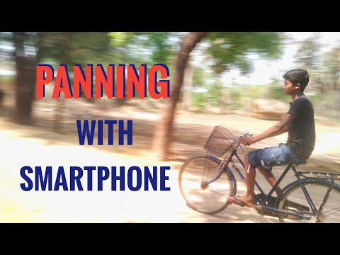 Panning Photography With Smartphone In Daylight