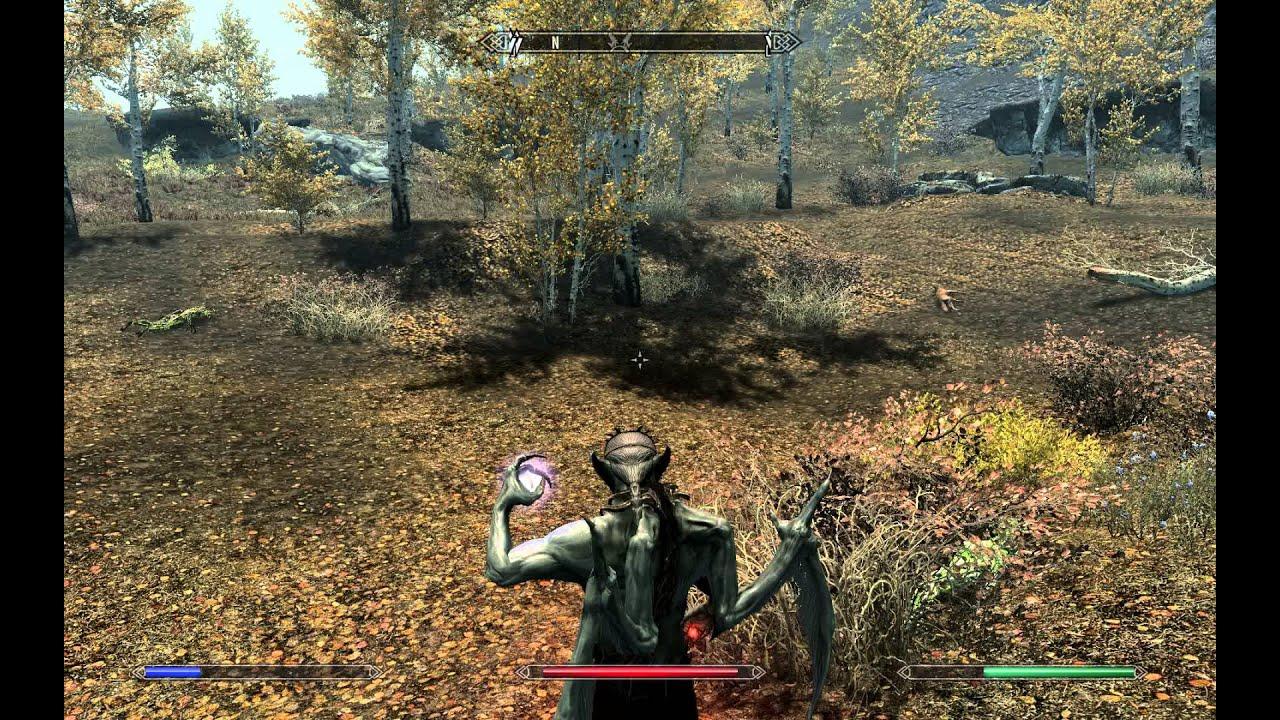 Skyrim learn spells