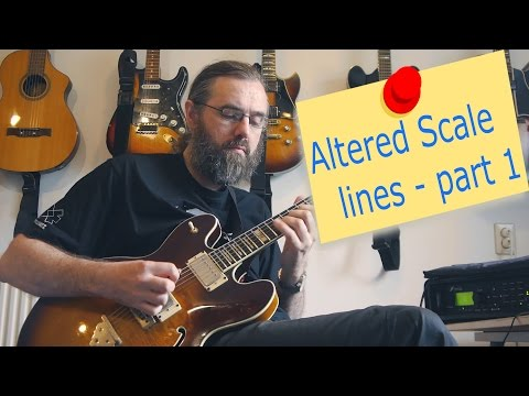 Altered Scale lines - part 1