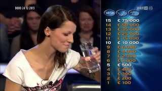 Christina Stürmer (CS) in der Millionenshow (Licht ins Dunkel) Prominenten Special