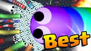 SLITHER.IO | BEST MOMENTS  | World Record Highscores Trolling Hacks / Cheats / Mods Montage!