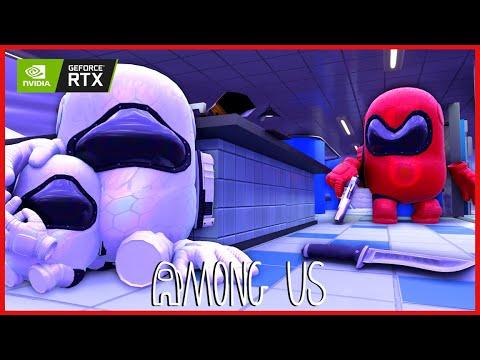 MINI CREWMATE & DAD VS IMPOSTOR - AMONG US 3D ANIMATION #19