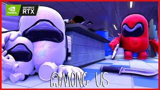 MINI CREWMATE & DAD VS IMPOSTOR  AMONG US 3D ANIMATION #19