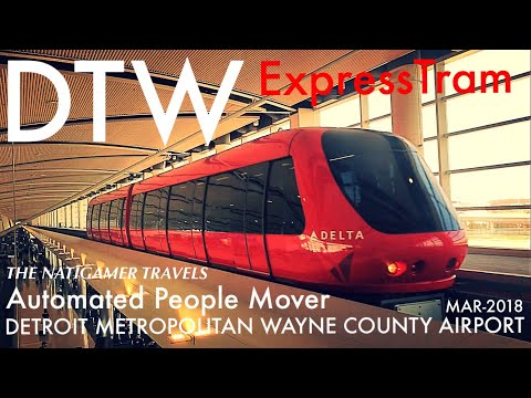 """ExpressTram"" APM Automated People Mover 