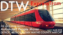 """ExpressTram"" APM Automated People Mover | DTW / Detroit | Otis Hovair | Concourse A | Mar-2018"