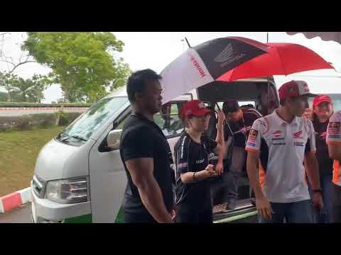 Surprise . Meet Marc Marquez and Jorge Lorenzo Full Video