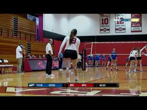 Red Flash Women's Volleyball Vs. CCSU Highlights
