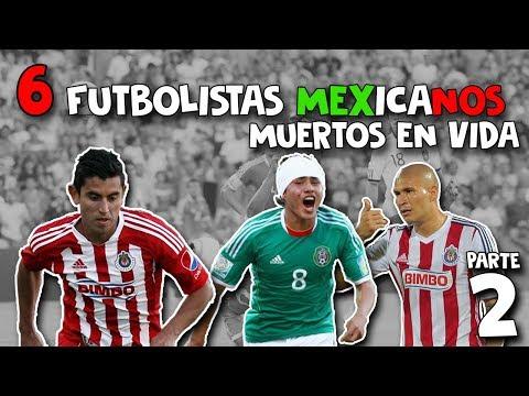 6 FUTBOLISTAS MEXICANOS MUERTOS en VIDA - PARTE 2 | TopFutMX