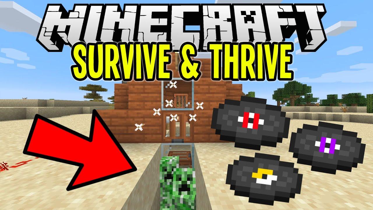 Minecraft Super Easy Creeper Music Disc Farm Minecraft Survival Lets Play Tutorial Ep 10