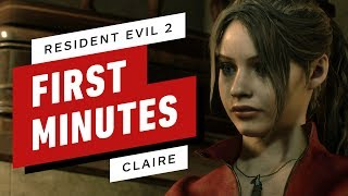 The First 15 Minutes of Resident Evil 2 Gameplay - Claire Redfield (4K 60fps)