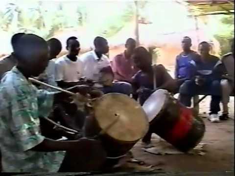 Brekete Drumming From Ghana