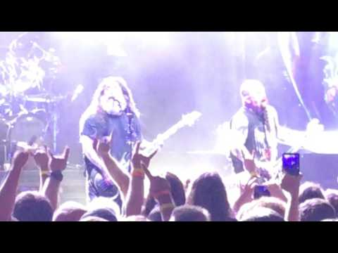 Slayer live in St Augustine , Fl 7-21-2017