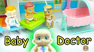 Baby Secrets Go to Doctor - Color Change Diapers + Surprise Bath Tub Babies Blind Bags