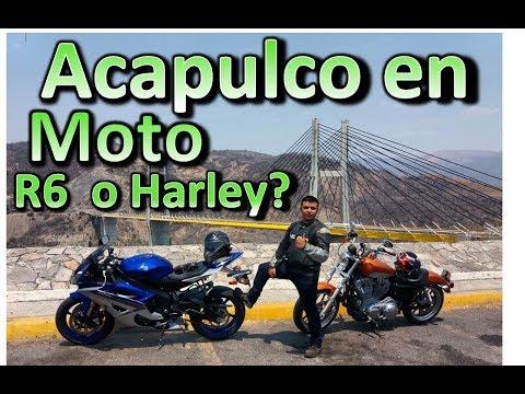Viaje a ACAPULCO en R6  y Harley Parte 1