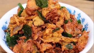Onion Pakoda | ఉల్లిపాయ గట్టి పకోడీ | Snack Recipes