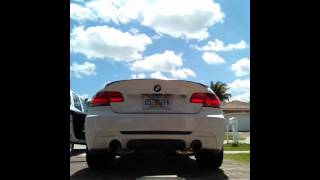 BMW 335I N54 ACTIVE AUTOWERKE CATLESS DOWNPIPES/VANGUAR EXHAUST.