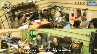 "[ENGSUB] 20130215 CNBLUE in Yoo In Na ""Volume Up"" Radio (1/2)"