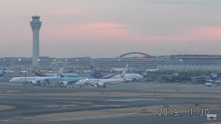 🔴 Tokyo Haneda Airport Live with air traffic control conversations  羽田空港