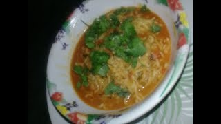 SOUPY TOMATO MAGGI _ Easy to make _DELICIOUS  & QUICK