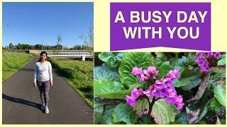 A Busy Day in My Life 2018 || Egg Prawn Chowmien || Refreshing Evening Walk