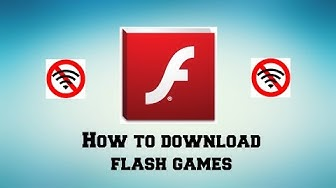 How To Download Flash Games!