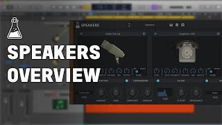 Speakers Overview - Microphone and Speaker Simulation Plugin