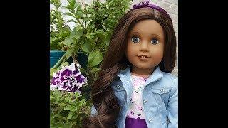 افتتاح إنشاء الخاصة بك دمية الفتاة الأمريكية (الظلام جوزفينا العفن)